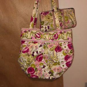 Vera Bradley purse and wallet set